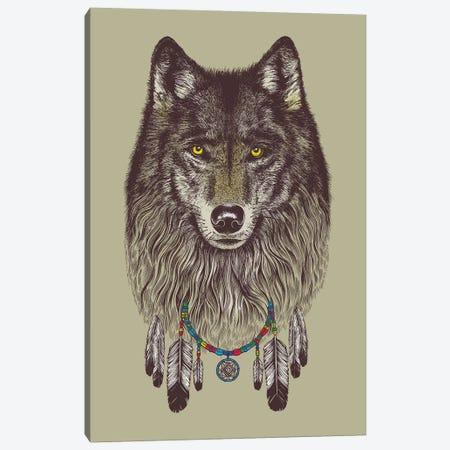 Wolf Dreams 3-Piece Canvas #RCA34} by Rachel Caldwell Canvas Art