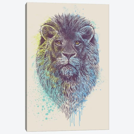 Lion King Canvas Print #RCA5} by Rachel Caldwell Canvas Art