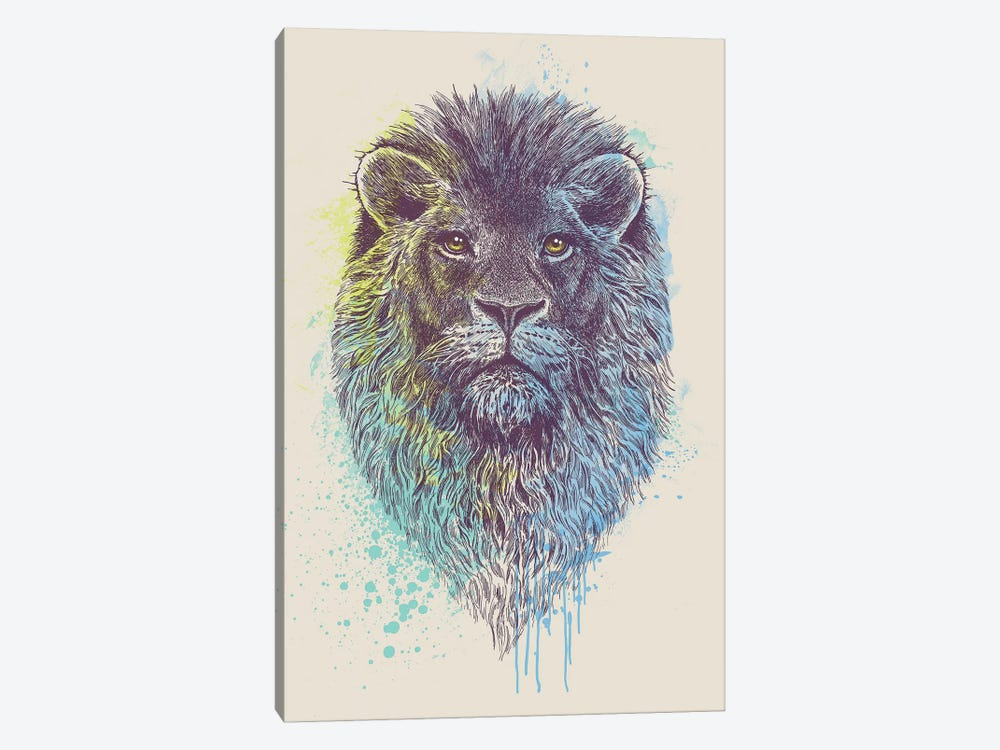 Lion King by Rachel Caldwell 1-piece Art Print