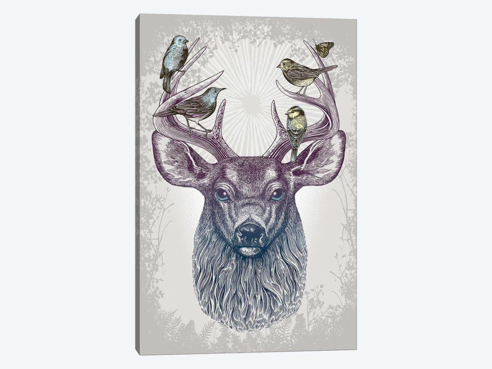 Magic Buck by Rachel Caldwell 1-piece Canvas Art