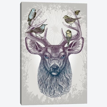 Magic Buck Canvas Print #RCA6} by Rachel Caldwell Canvas Wall Art