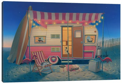 Happy Campers Canvas Art Print
