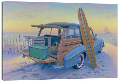 Ready To Go Canvas Art Print