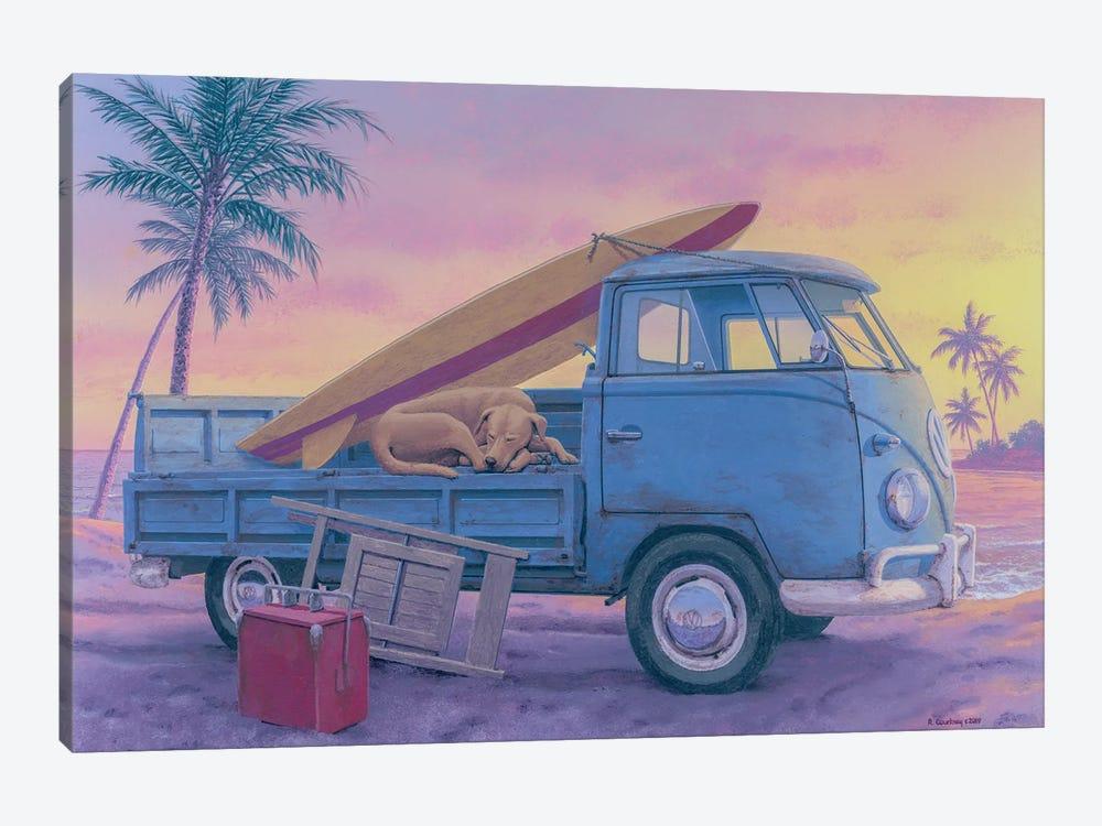 The Beach Boy by Richard Courtney 1-piece Canvas Art