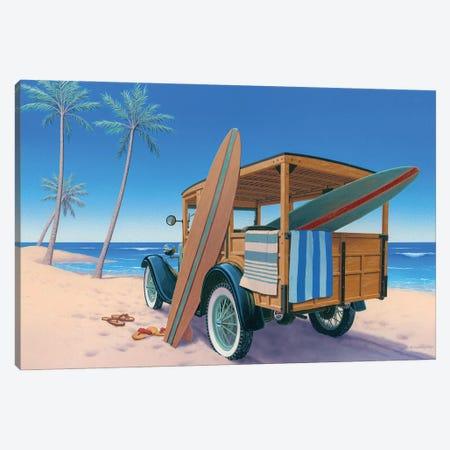 The Good Ole Days Canvas Print #RCC5} by Richard Courtney Canvas Wall Art