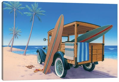 The Good Ole Days Canvas Art Print