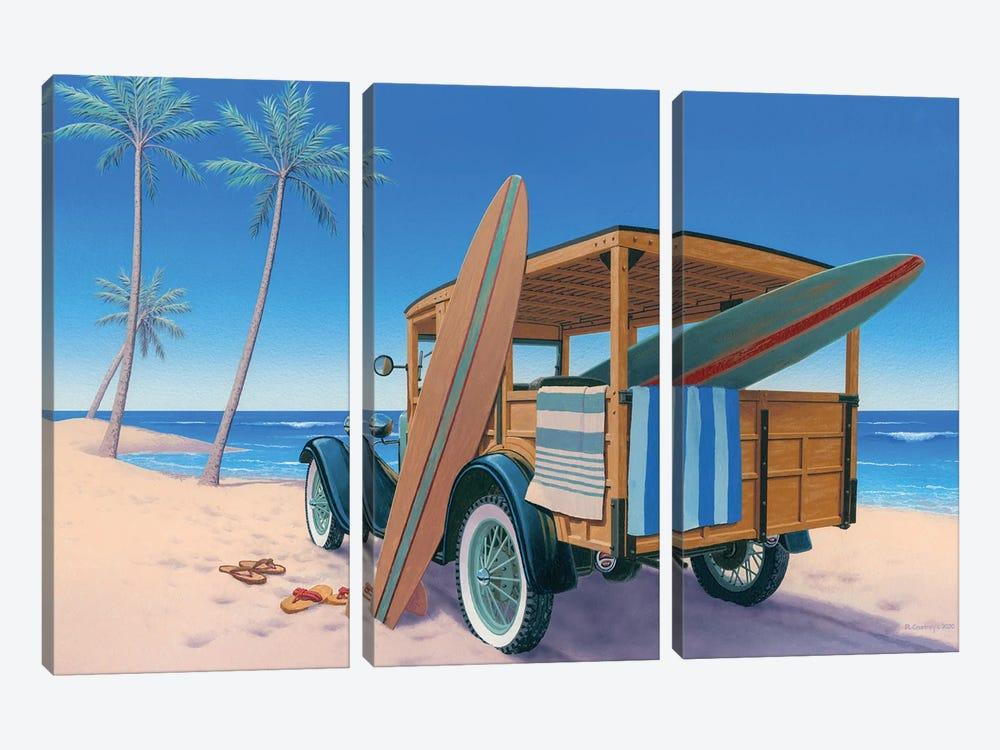 The Good Ole Days by Richard Courtney 3-piece Canvas Art Print
