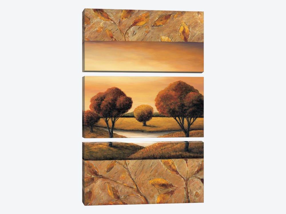 The Essence I by Rachael Sullivan 3-piece Canvas Art