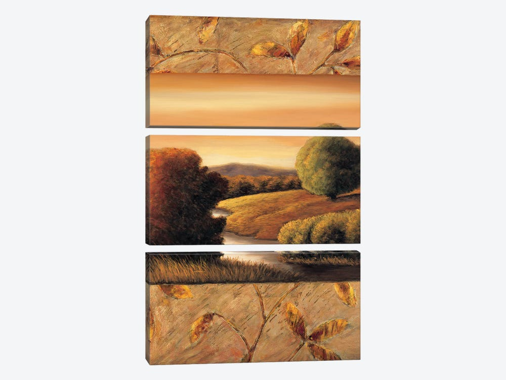 The Essence II by Rachael Sullivan 3-piece Canvas Print