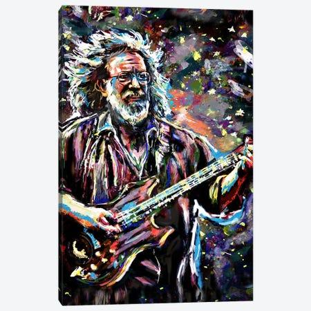 "Jerry Garcia - Grateful Dead ""Touch Of Grey"" Canvas Print #RCM100} by Rockchromatic Canvas Art Print"