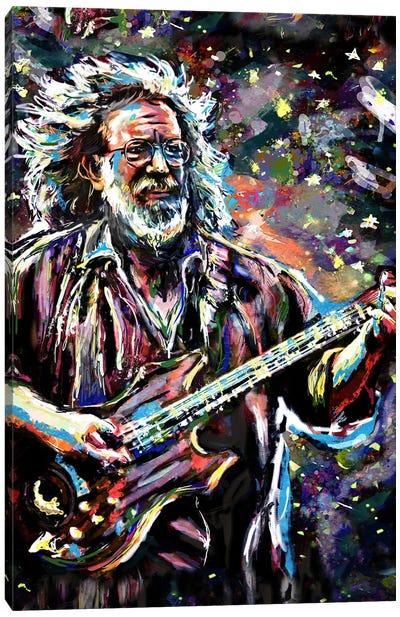"Jerry Garcia - Grateful Dead ""Touch Of Grey"" Canvas Art Print"