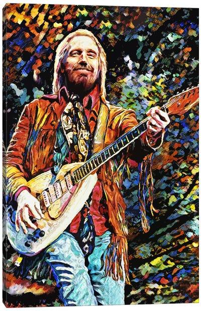"Tom Petty ""You Belong Among The Wildflowers"" Canvas Art Print"
