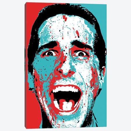 "American Psycho - Patrick Bateman ""Hey Paul!"" Canvas Print #RCM117} by Rockchromatic Art Print"