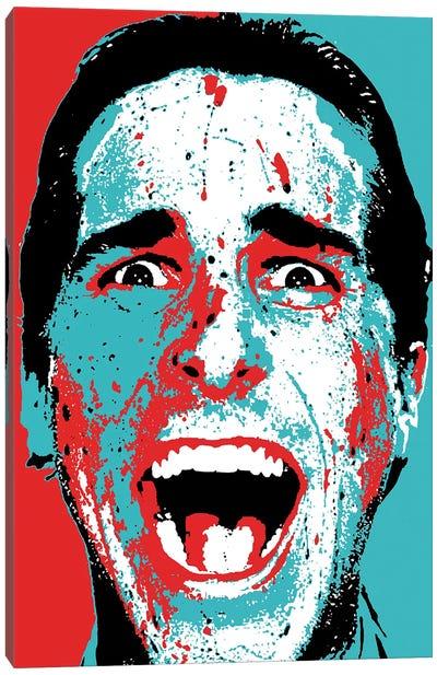 "American Psycho - Patrick Bateman ""Hey Paul!"" Canvas Art Print"