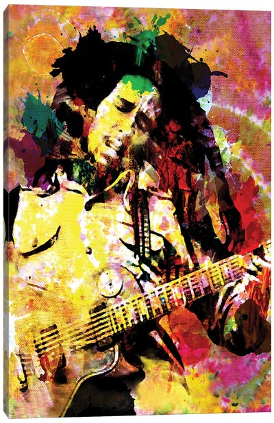 "Bob Marley ""Songs Of Freedom"" Canvas Art Print"