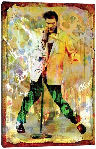"""Elvis Presley """"Jailhouse Rock"""" Canvas Art Print"""