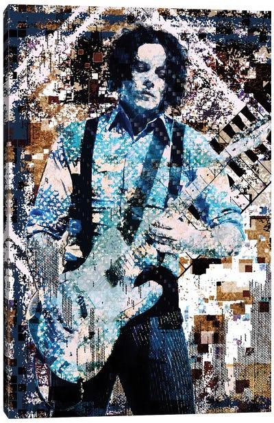 """Jack White - """"Lazaretto"""" Canvas Art Print"""