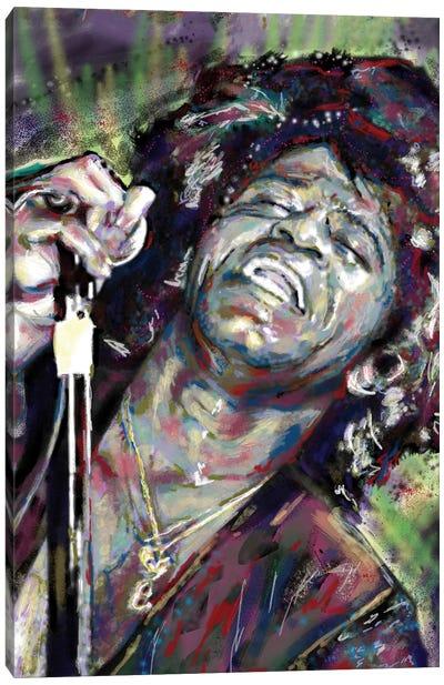 "James Brown ""I Feel Good"" Canvas Art Print"