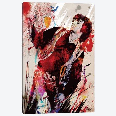 "Jim Morrison - The Doors ""Break On Through"" Canvas Print #RCM136} by Rockchromatic Canvas Art Print"