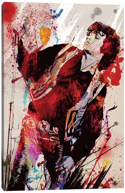"Jim Morrison - The Doors ""Break On Through"" Canvas Art Print"