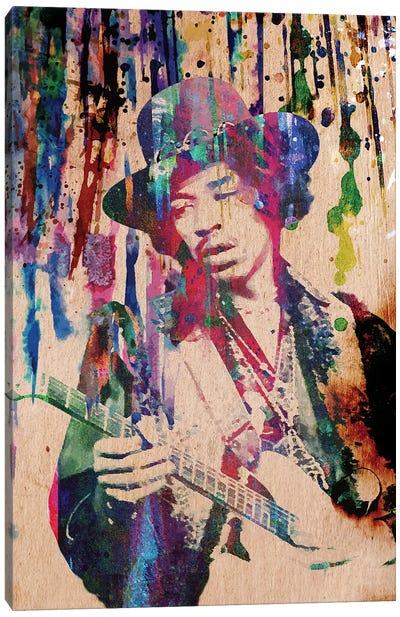 "Jimi Hendrix ""Purple Haze"" Canvas Art Print"
