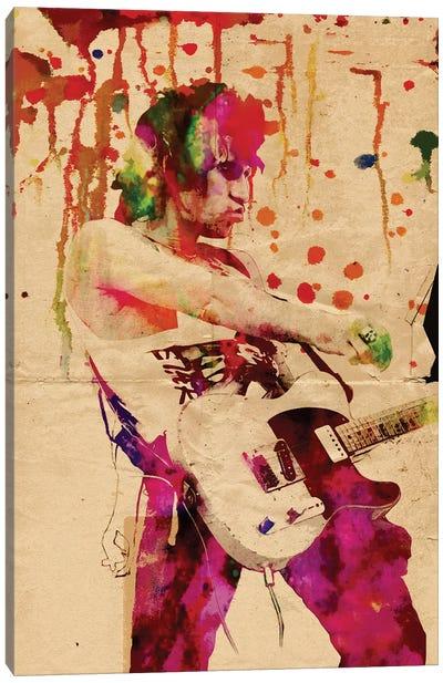 "Keith Richards - The Rolling Stones ""Wild Wild Horses"" Canvas Art Print"