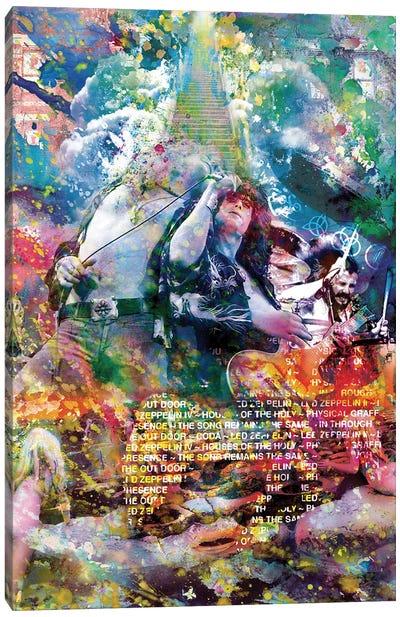 "Led Zeppelin ""Stairway To Heaven"" Canvas Art Print"