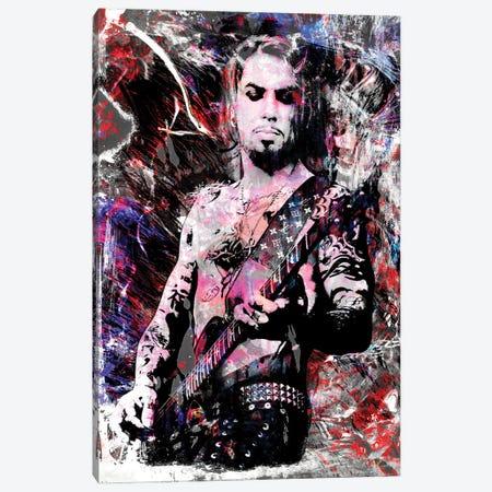 "Dave Navarro - Jane'S Addiction ""Been Caught Stealing"" Canvas Print #RCM155} by Rockchromatic Canvas Art Print"