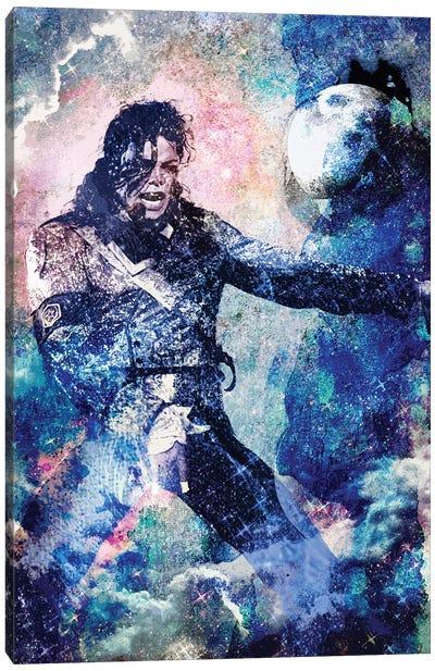 "Michael Jackson ""The Man In The Mirror"" Canvas Art Print"