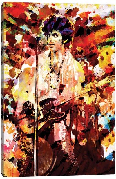 "Prince ""Lets Go Crazy"" Canvas Art Print"