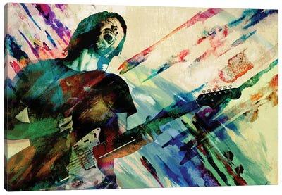 "Thom Yorke - Radiohead ""Karma Police"" Canvas Art Print"