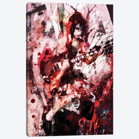 "AC/DC ""Thunderstruck"" Canvas Print #RCM177} by Rockchromatic Canvas Print"