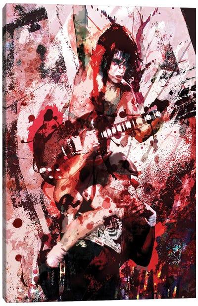 """AC/DC """"Thunderstruck"""" Canvas Art Print"""