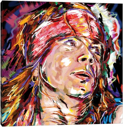 "Axl Rose - Guns N' Roses ""Sweet Child O' Mine"" Canvas Art Print"