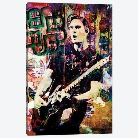 "Breaking Benjamin ""The Diary Of Jane"" Canvas Print #RCM182} by Rockchromatic Art Print"