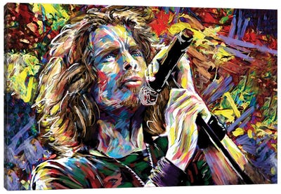 """Chris Cornell """"Nothing Compares To You"""" Canvas Art Print"""