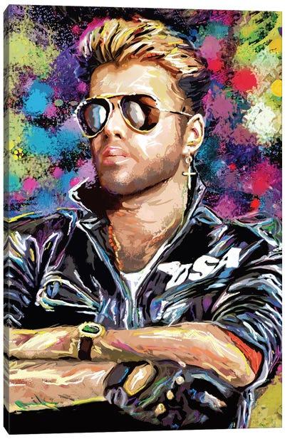 "George Michael ""Gotta Have Faith"" Canvas Art Print"