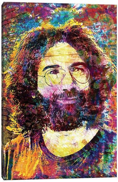 "Jerry Garcia - The Grateful Dead ""Ripple"" Canvas Art Print"