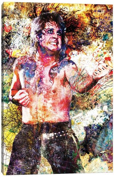 "Ozzy Osbourne ""Blizzard Of Oz"" Canvas Art Print"
