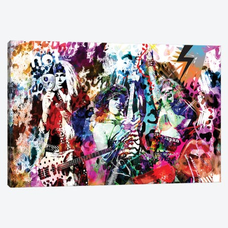 """Steel Panther """"Eyes Of The Panther"""" Canvas Print #RCM209} by Rockchromatic Canvas Art"""