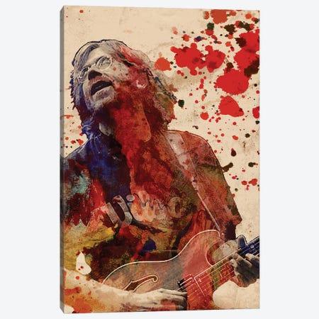 "Trey Anastasio - Phish ""Bag It, Tag It"" Canvas Print #RCM213} by Rockchromatic Art Print"