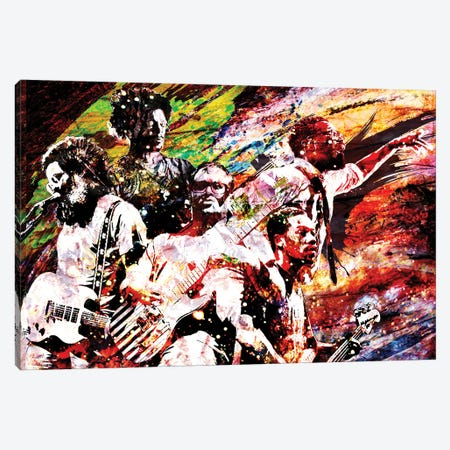 "Tv On The Radio ""Golden Age"" Canvas Print #RCM216} by Rockchromatic Canvas Art"