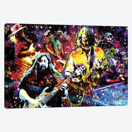 "Widespread Panic ""Red Rocks"" Canvas Print #RCM220} by Rockchromatic Canvas Art"