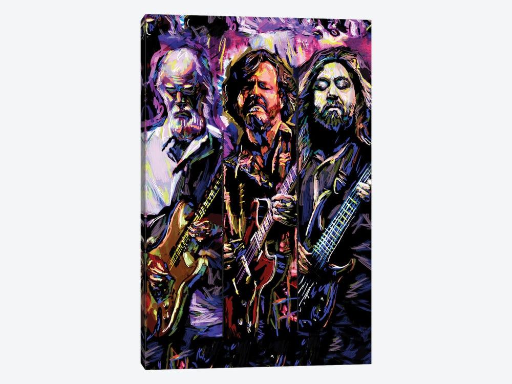 "Widespread Panic ""Travelin' Light"" by Rockchromatic 1-piece Canvas Art Print"