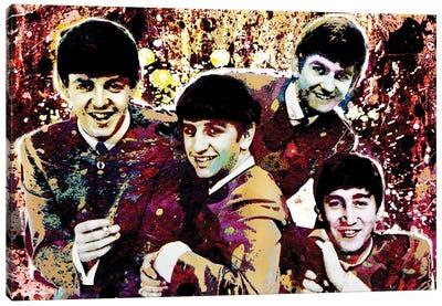"The Beatles ""Hard Days Night"" Canvas Art Print"