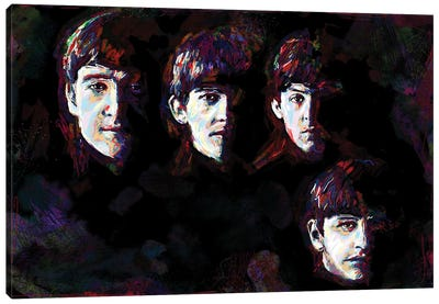 """The Beatles """"I Saw Her Standing There"""" Canvas Art Print"""