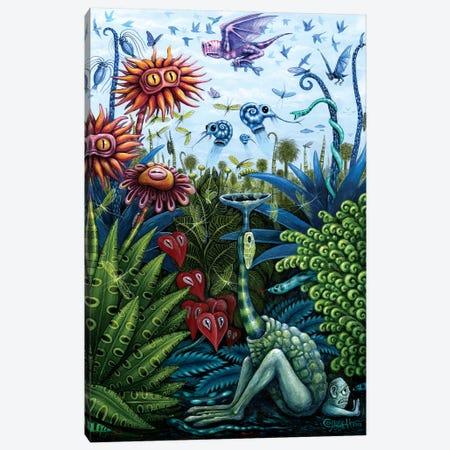 Garden II Canvas Print #RCN12} by R.S. Connett Canvas Wall Art