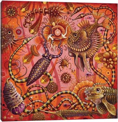 Microbia III Canvas Art Print
