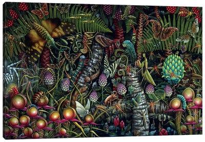 Microcosmic Garden Canvas Art Print