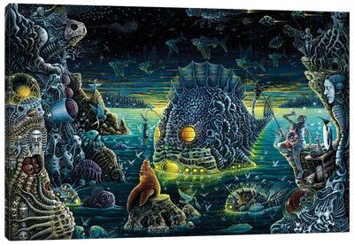 Night Trawlers Canvas Art Print
